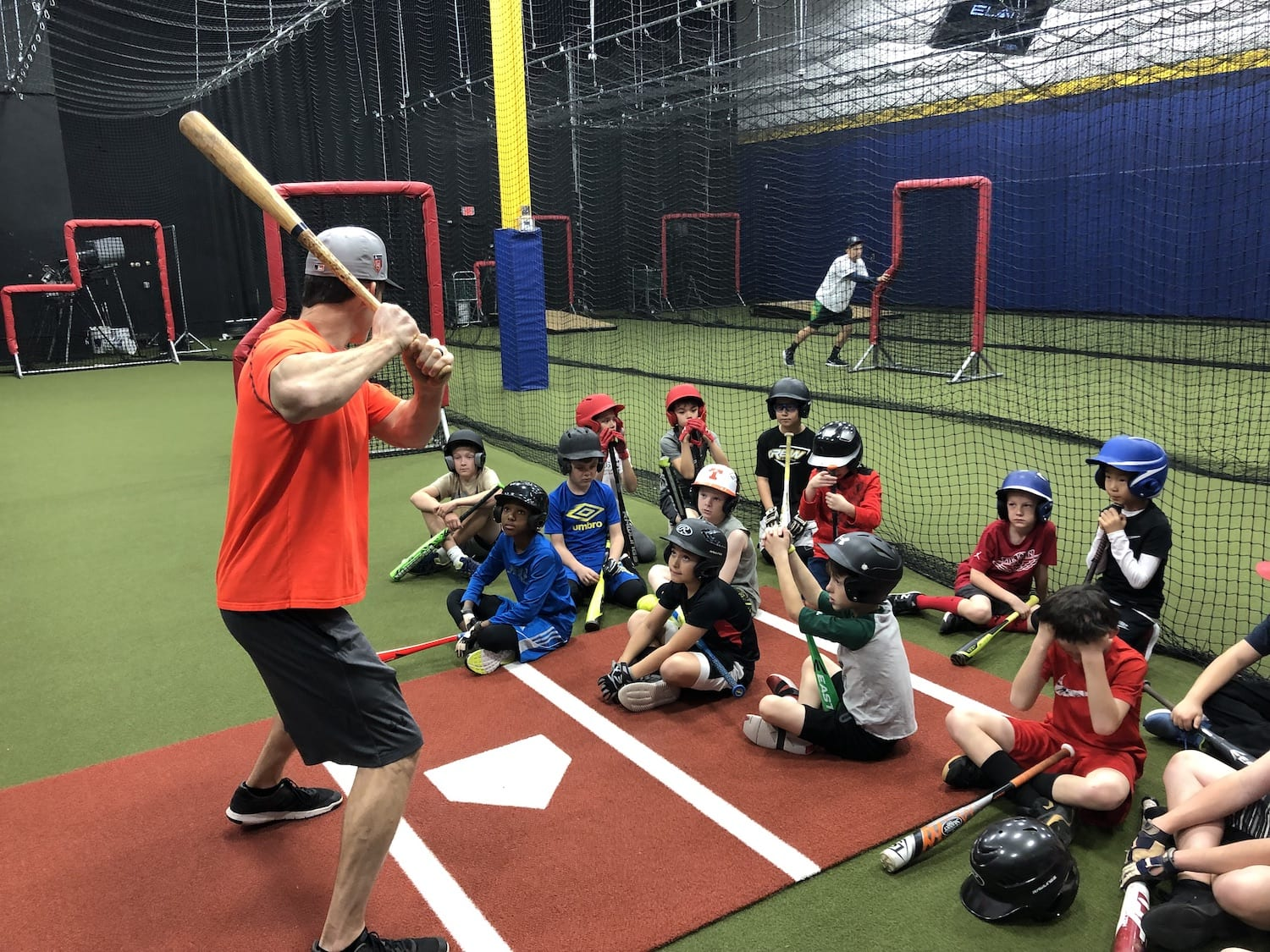 Cactus Athletics Baseball Camp Kids