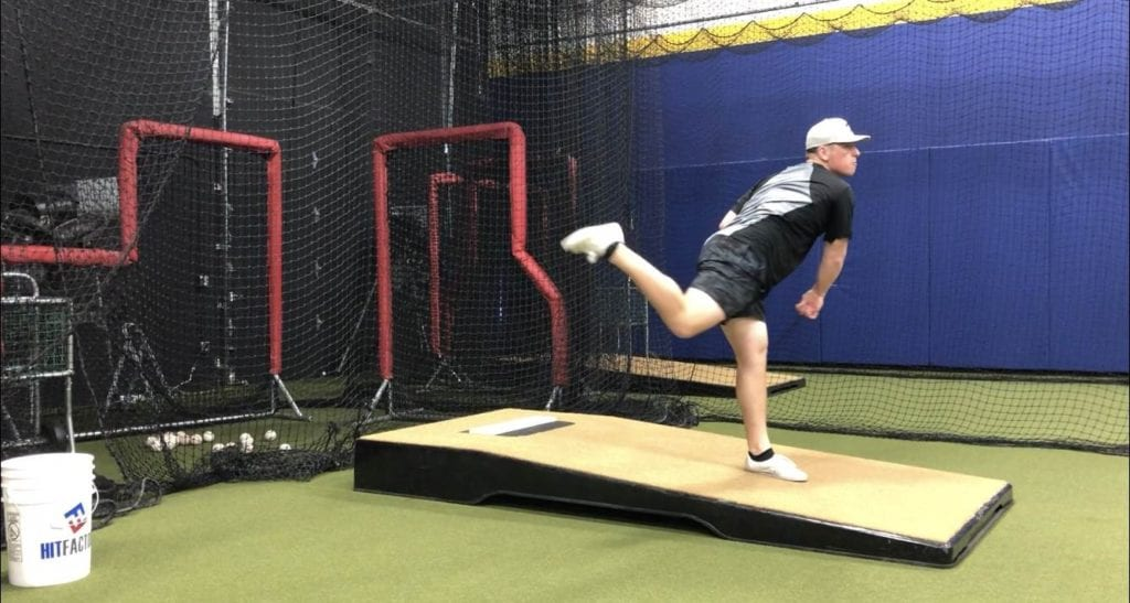 Cactus Athletics David Ellis pitching drill